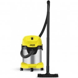 Aspirator multifunctional Karcher WD 3 Premium, Aspirare umeda si uscata, 17 l, Furtun 2 m, 1000 W