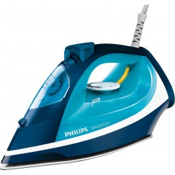 Fier de calcat Philips Smooth Care GC3582/20, 2400 W, 0.4 l, 170 g/min, Functie curatare Calc Clean, Albastru