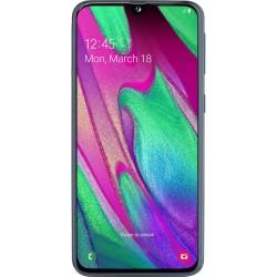 Telefon mobil Samsung Galaxy A40, Dual SIM, 64GB, 4G, Negru