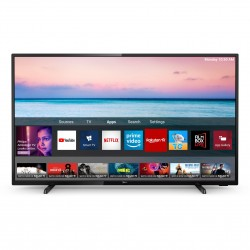 Televizor LED Smart Philips, 126 cm, 50PUS6504/12, 4K Ultra HD