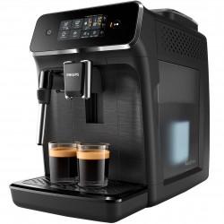 Espressor automat Philips EP2220/10, 2 bauturi, filtru AquaClean, rasnita ceramica, optiune cafea macinata, Negru